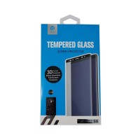 Screen Protector Tempered Glass Samsung Galaxy S9 Black Devia Premium