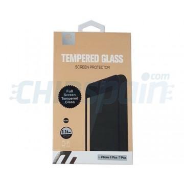 Protetor de tela Vidro temperado iPhone 7 Plus iPhone 8 Plus Preto Devia Premium