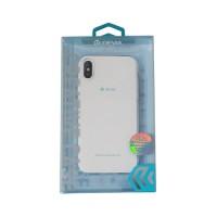 Cover iPhone X iPhone Xs Ultra-fine silicone Transparent Devia Premium