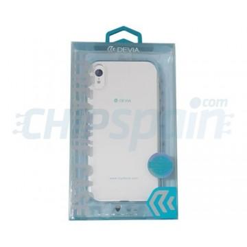 Funda iPhone XR Silicona Transparente Devia Premium