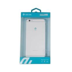 Cover iPhone 6S Plus iPhone 6 Plus Ultra-fine silicone Transparent Devia Premium