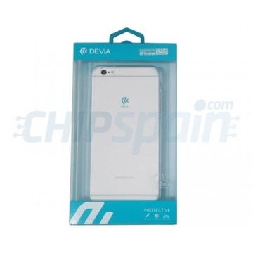 Cover iPhone 6S Plus iPhone 6 Plus Ultra-fine silicone Transparent Devia Premium
