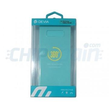Capa Samsung Galaxy Note 8 Silicone ultra fino Transparente Devia Premium
