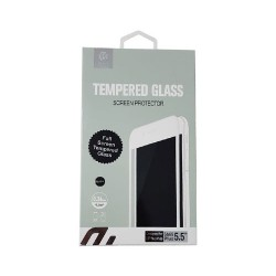 Protector Pantalla Cristal Templado iPhone 6 Plus iPhone 6S Plus Negro Devia Premium