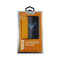 Screen Protector Tempered Glass iPhone X Black Devia Premium