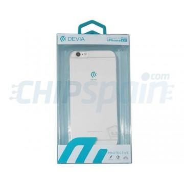 Cover iPhone 6S iPhone 6 Ultra-fine silicone Transparent Devia Premium