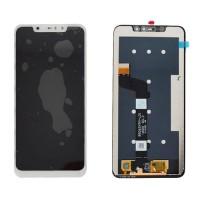 Ecrã Tátil Completo Xiaomi Redmi Note 6 Pro Branco