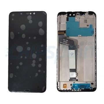 Ecrã Tátil Completo Xiaomi Redmi Note 6 Pro com Moldura Preto