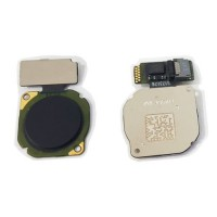 Botão Home Huawei Mate 10 Lite RNE-L01 RNE-L21 Preto