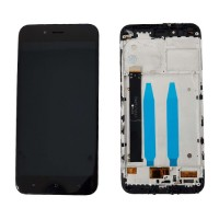 LCD Screen + Touch Screen Digitizer Xiaomi Mi A1 - Mi 5X with Frame Black