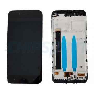 Ecrã Tátil Completo Xiaomi Mi A1 - Mi 5X com Marco Preto