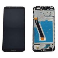 Pantalla Huawei P Smart Completa Negro con Marco FIG-LX1