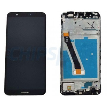 LCD Screen + Touch Screen Digitizer Huawei P Smart with Frame Black