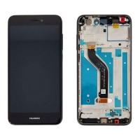Pantalla Huawei P8 Lite 2017 / P9 Lite 2017 Completa Negro con Marco PRA-LX1 PRA-LX3