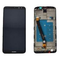 Ecrã Tátil Completo Huawei Mate 10 Lite Preto com Marco RNE-L21