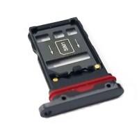 Dual Tabuleiro para cartão SIM Huawei Mate 20 Pro LYA-L29 Preto