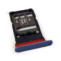 Dual SIM Card Tray Huawei Mate 20 X EVR-L29 Blue