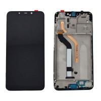 Ecrã Tátil Completo Xiaomi PocoPhone F1 Preto com Marco
