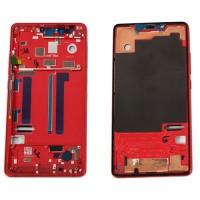 Marco Central Intermedio Xiaomi Mi 8 SE Rojo