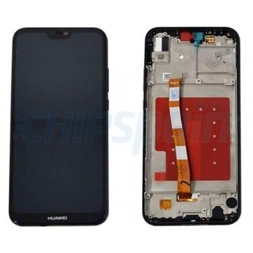 Ecrã Tátil Completo Huawei P20 Lite Preto ANE-LX1
