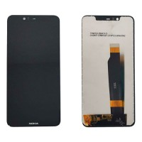 LCD Screen + Touch Screen Nokia 5.1 Plus / X5 Black