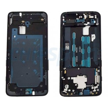 Marco Frontal Pantalla LCD OnePlus 6T Negro