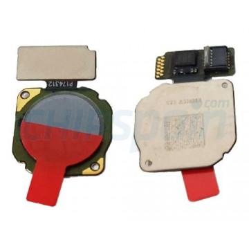 Botão Home Huawei Mate 10 Lite RNE-L01 RNE-L21 Cinza