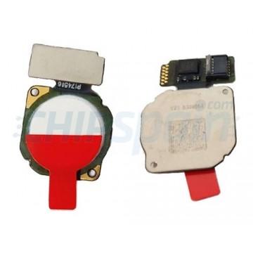 Botão Home Huawei Mate 10 Lite RNE-L01 RNE-L21 Branco