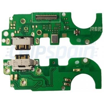 Connector Flex Carregamento e Microfone Nokia 8.1 / Nokia X7