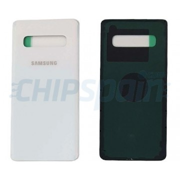 Tapa Trasera Batería Samsung Galaxy S10 G973F Blanco