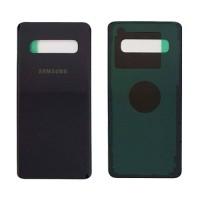Tapa Trasera Batería Samsung Galaxy S10 G973F Negro