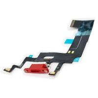Flex Conector Carga Lightning y Micrófono iPhone XR A2105 Rojo