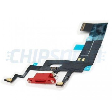 low priced 52025 57067 Flex Lightning Charging Port and Micro for iPhone XR A2105 Red