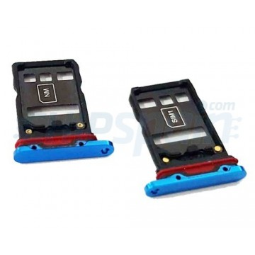 Dual Tabuleiro para cartão SIM Huawei P30 Pro Azul