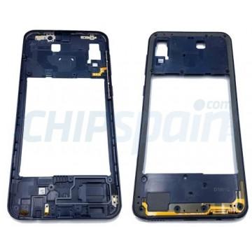 Quadro Central Intermediário Samsung Galaxy A20 A205 Azul