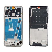 Front Frame LCD Screen Huawei P30 Lite Silver