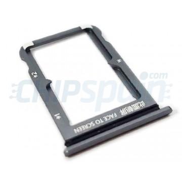 Tabuleiro Dual para cartão SIM Xiaomi Mi 9 Cinzento