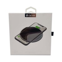 Fast Wireless Charger Devia Premium Black