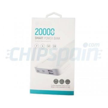 Powerbank 20000mAh Devia Premium Branco