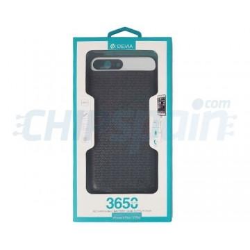 Capa iPhone 8 Plus iPhone 7 Plus com Bateria Recarregável 3650mAh Preto Devia Premium