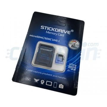 Cartão de Memória 128Gb Micro SDHC/SDXC UHS-I Classe A1 Stickdrive