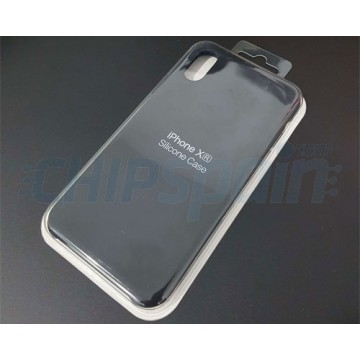 Cover iPhone XR Silicone Premium Black