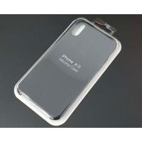 Funda iPhone XS Silicona Premium Negra