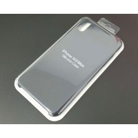 Cover iPhone XS Max Silicone Premium Black