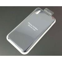 Funda iPhone XS Max Silicona Premium Negra