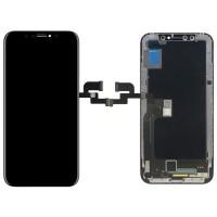 Ecrã Tátil Completo iPhone X A1901 OLED Preto