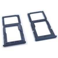 Tabuleiro para cartão Dual SIM e Micro SD Huawei P30 Lite Cinza