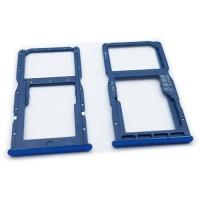 Bandeja Dual SIM y Micro SD Huawei P30 Lite Azul