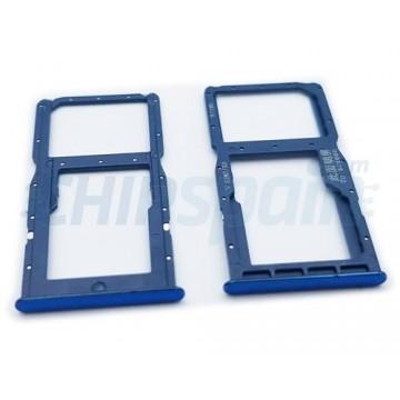 Tabuleiro para cartão Dual SIM e Micro SD Huawei P30 Lite Azul