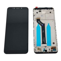 LCD Screen + Touch Screen Digitizer Xiaomi Redmi 5 Plus / Redmi Note 5 with Frame Black